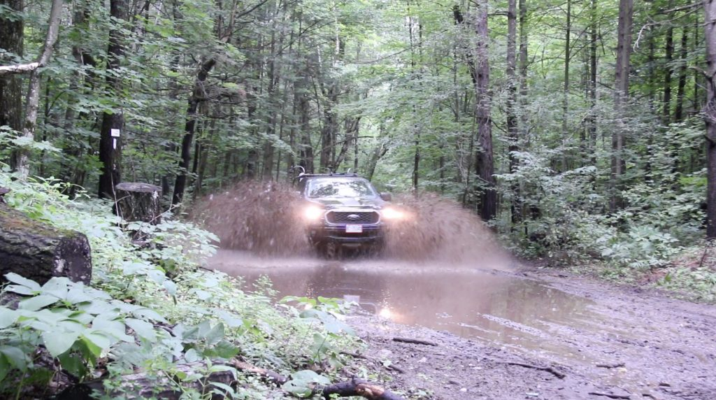 Ford Ranger - Driving Through Mud Puddles - Free Sound Pack