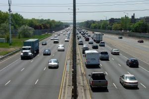 QEW - Rush Hour Traffic - Sound Effects